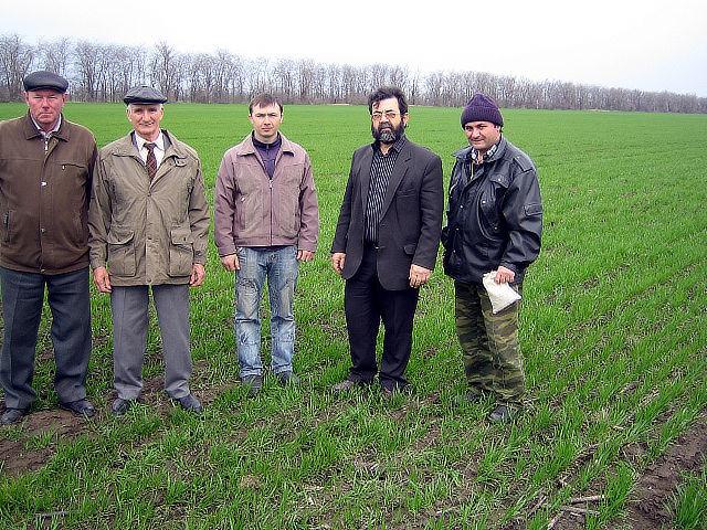 Мониторинг состояния посевов