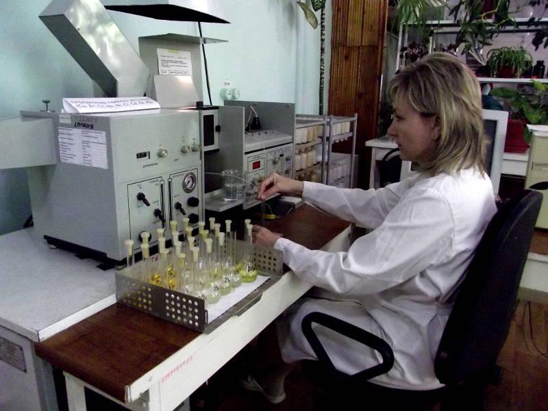 Определение тяжелых металлов в сапропеле атомно-абсорбционным методом. Агрохимик I категории ‑ Попова Л.Х.
