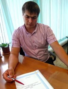 Начальник отдела геоинформационных технологий Олейников А.Ю.