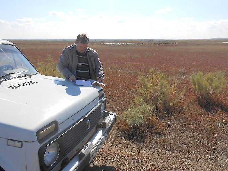 Визуальный осмотр земельного участка и проведение полевых работ