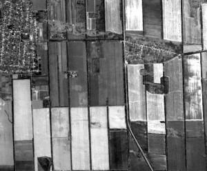 Панхроматический космоснимок, пространственное разрешение — 2 м