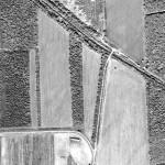Панхроматический космоснимок, пространственное разрешение — 0,5 м
