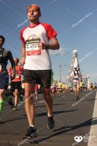 На дистанции марафона