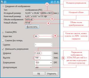 """Встроенный в LibreOffice """"сжимальщик"""" изображений"""
