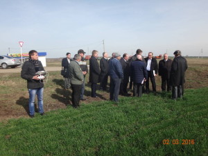 Агрохимцентр «Ставропольский» представляет вниманию участников новые технологии мониторинга сельхозугодий с применением беспилотного летательного аппарата