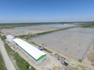 Строительство 3-й очереди тепличного комплекса ООО «Овощи Ставрополья» общей площадью 21,67 га