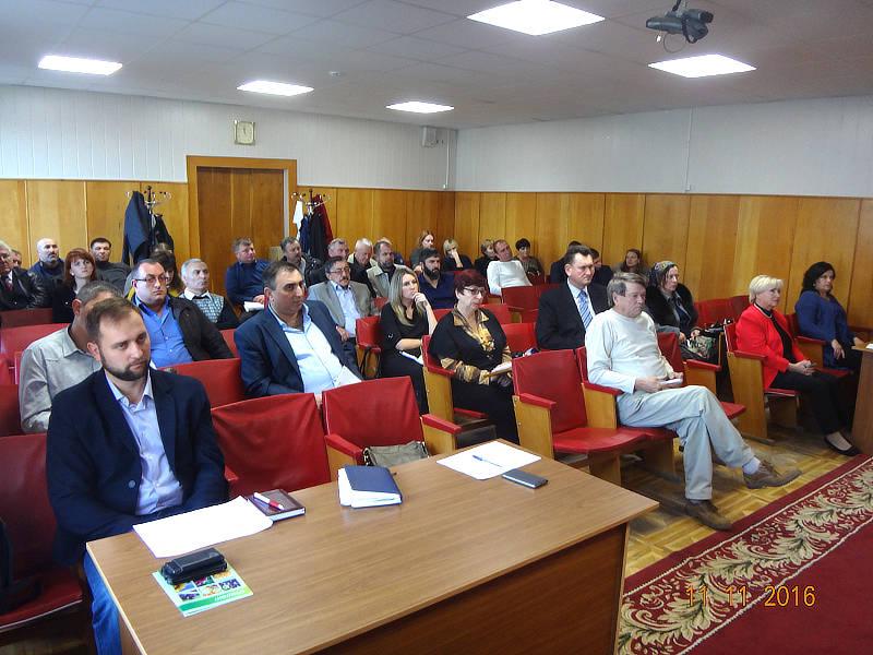 Аудитория администрации Шпаковского района