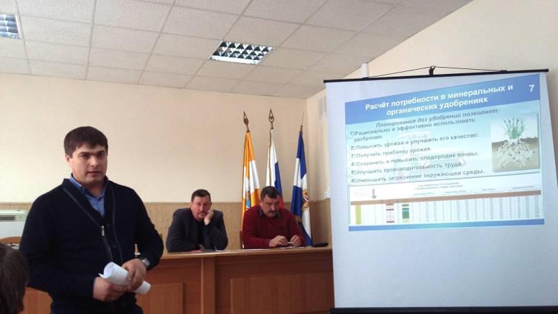 Выступление начальника отдела Олейникова А.Ю. в Предгорном районе