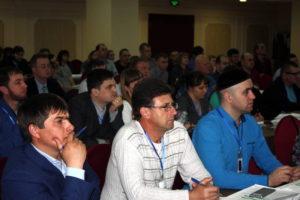 Нач. отдела геоинформационных технологий Олейников А.Ю. на Всероссийском семинаре