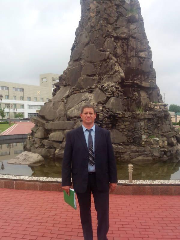 Егоров В.П. в г. Грозный
