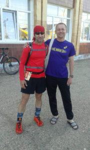 Со мной рядом – легенда мирового трейлраннинга. Андрей Хачатуров в Нью-Йорке бегал 1000 км за 10 дней!