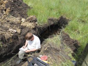 Описание морфологических свойств почв. Главный почвовед — Чернов В.А.