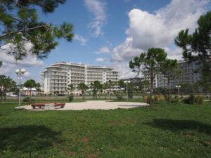 Многочисленные отели Адлера