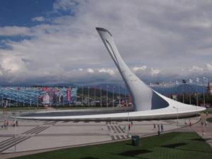 Главная площадь олимпийского парка