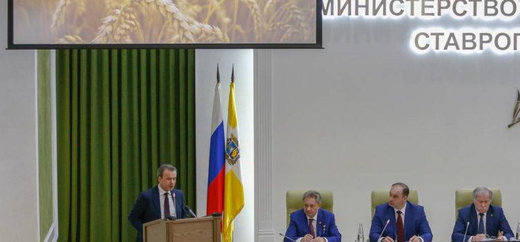 За трибуной - заместитель Председателя Правительства РФ Аркадий Дворкович