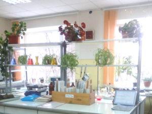 Одна из комнат испытательной лаборатории