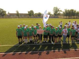 Команда минсельхоза перед матчем