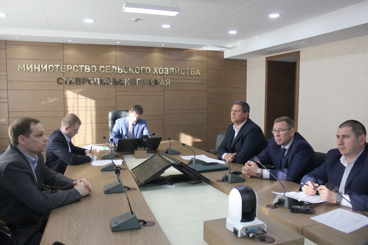 Делегация Ставропольского края участвует в видеоконференции по вопросам приобретения сельхозтоваропроизводителями минеральных удобрений