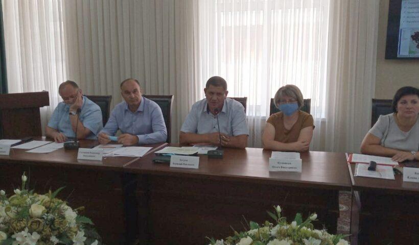 Выступление на совещании руководителя агрохимцентра Василия Егорова