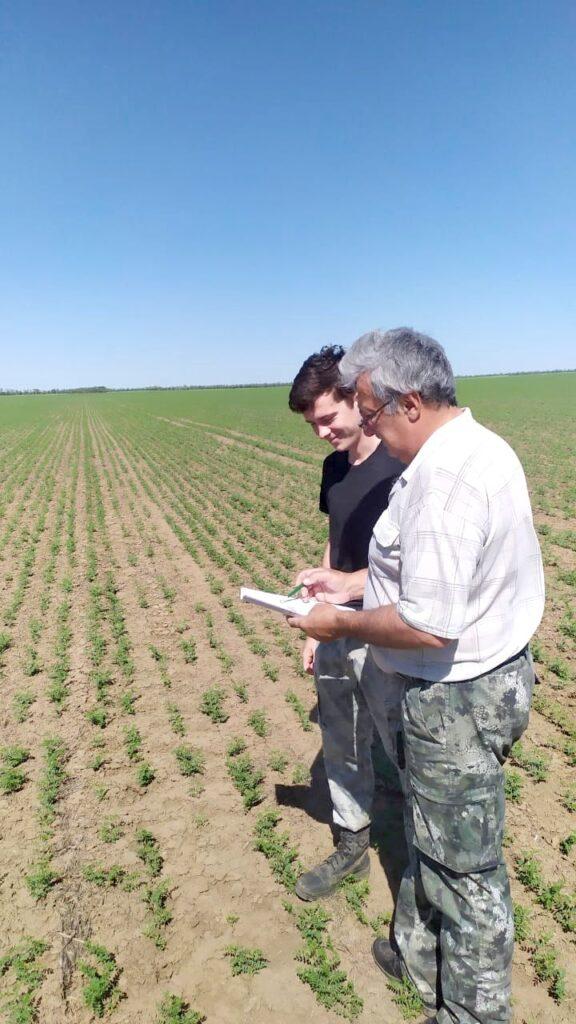 Уточнение маршрутного хода при отборе почвенных образцов