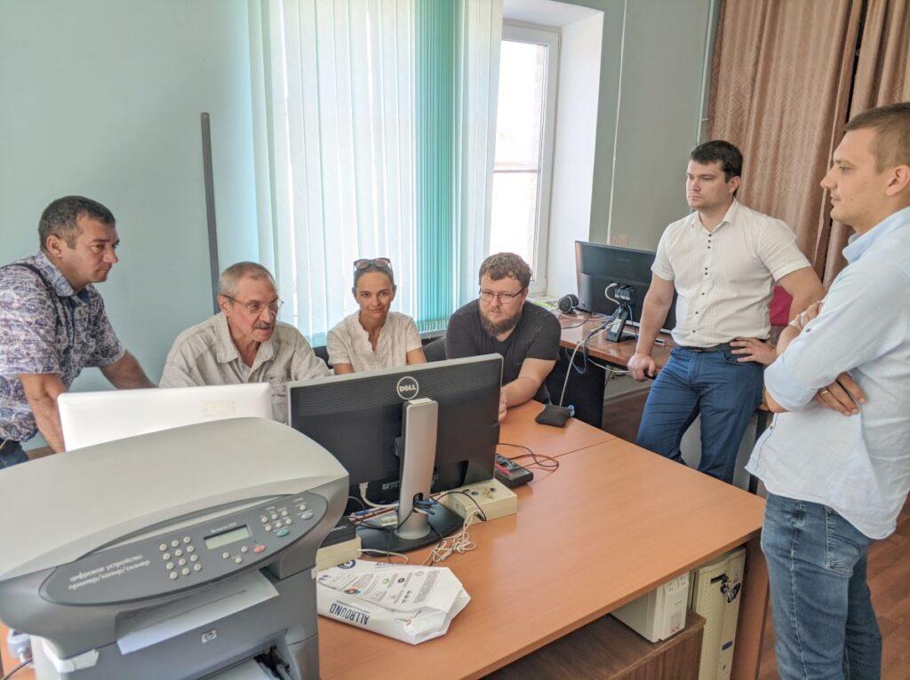 Демонстрация возможностей программных средств камеральной обработки агрохимцентра «Ставропольский»