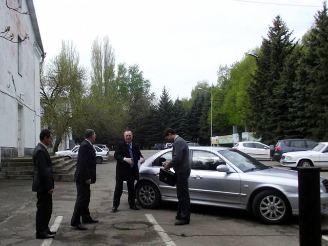 Визит Министра с/х СК Журавлёва И.В.