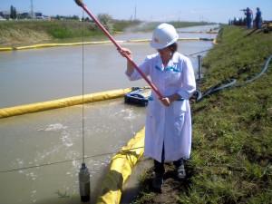 Отбор проб воды. Гл. агрохимик Журавель Н.В.
