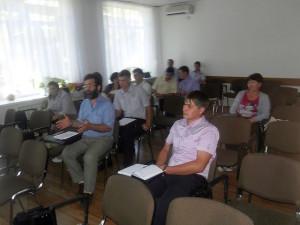Зам. директора Бурлай А.В. Обсуждение презентаций участниками круглого стола.