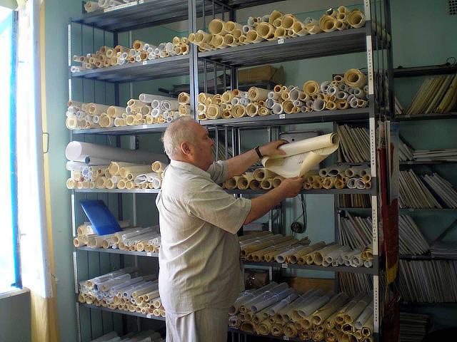 Модернизация архива отдела мониторинга плодородия почв
