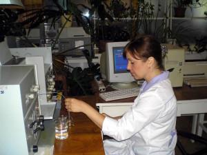 Определение тяжёлых металлов. Главный специалист по анализу растений - Журавель Н.В.