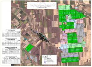 Карта-схема. Агрохимическая характеристика полей