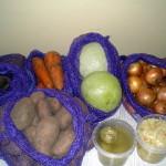 Пробы овощной продукции, поступившие на анализ