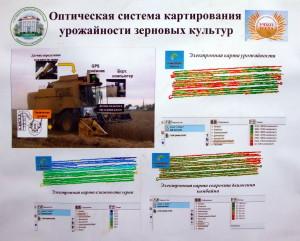 Тюмень. Оптическая система картирования урожайности зерновых культур