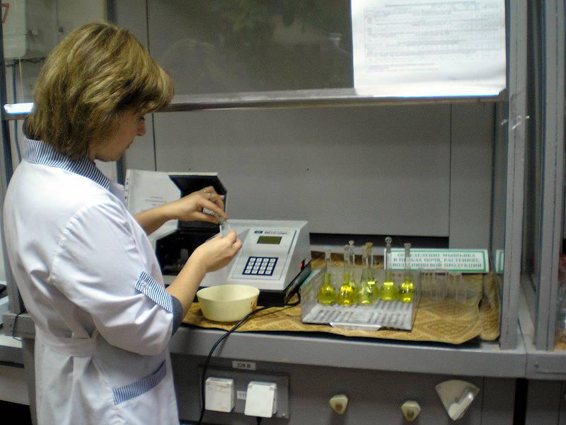 Определение нитратов в пробах питьевой воды. Главный агрохимик по анализу растений ‑ Журавель Н.В.