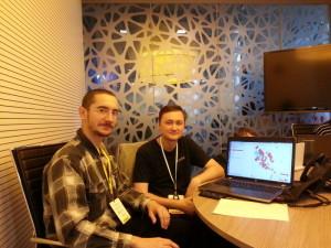 Пилипенко Григорий, Дмитрий Барышников - разработчик NextGIS. Обсуждение рабочих проектов картограмм агрохимцентра в QGIS