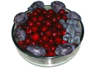 Пробы быстрозамороженных фруктов, поступивших на анализ