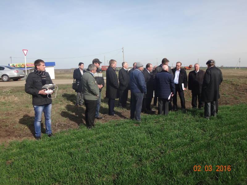 Использование беспилотных летательных аппаратов в сельском хозяйстве Ставрополья