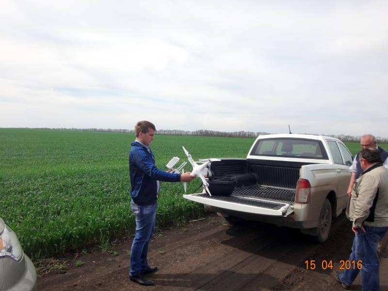 Презентация работы с Квадрокоптером DJI Phantom 3 Professional