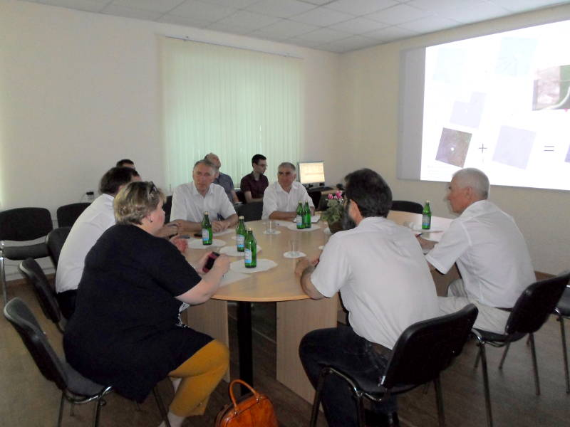 Совещание по геоинформационным технологиям в ситуационном центре