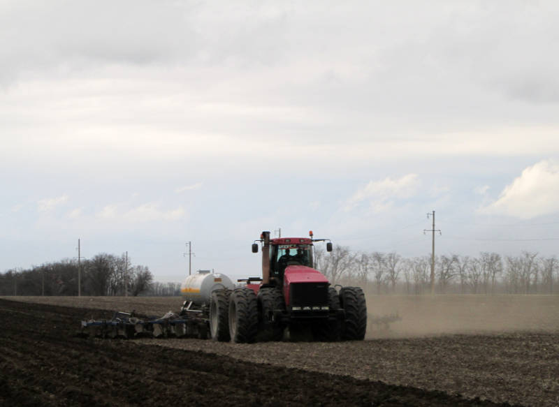 Мониторинг содержания азота в почве