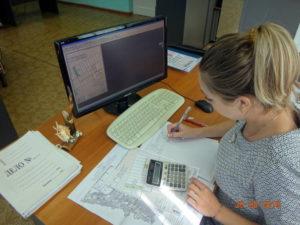 Камеральную обработку результатов предпосевной почвенной диагностики выполняет инженер НТГИ Мирошниченко Н.А.