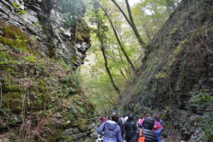 По пути на Пшадские водопады