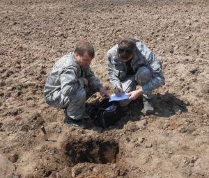 Полевые работы по почвенному обследованию