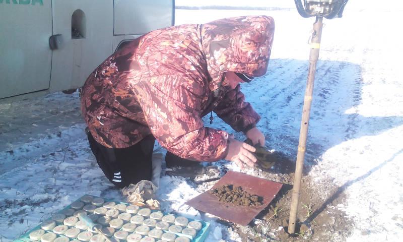 Почвенная диагностика в Труновском районе Ставропольского края, 23 января 2017 года