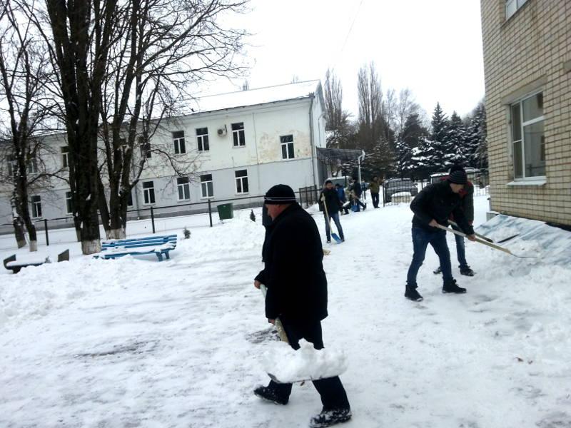Зимние субботники