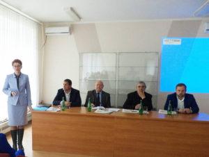 Врио директора ФГБУ ГЦАС «Ставропольский» Егоров В.П. на семинаре-совещании