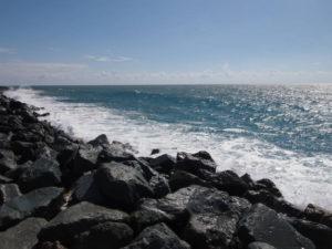 Чёрное море в Адлере