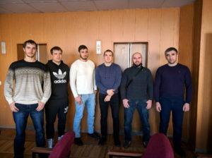 """Представители агрохимцентров по СКФО с главным разработчиком """"Агроэколог"""" Ильёй"""