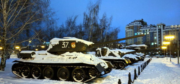 Военная техника времён Великой Отечественной Войны