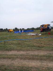Отбор проб почв с нефтезагрязненного участка